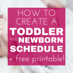 A Foolproof Newborn Schedule (That Works for Your Toddler, Too!) images
