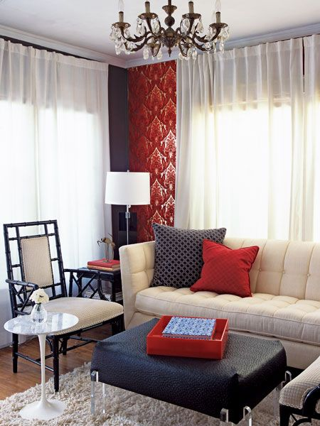 I Really Like Cranberry Aqua But The Navy Is Pretty Too Brown Living Room Decor Brown Living Room Living Room Red