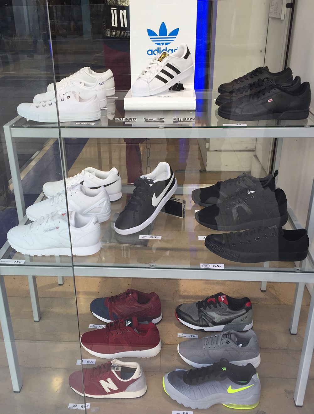 magasin basket new balance paris
