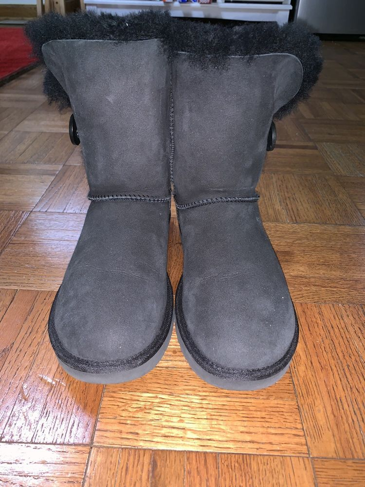 1c71366b5b4 Womens Black UGG Bailey Button Boots Size 8  fashion  clothing  shoes   accessories  womensshoes  boots (ebay link)