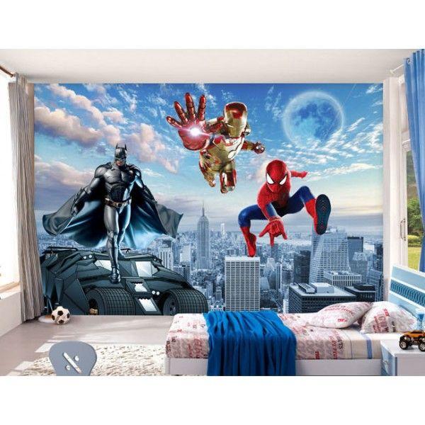 Decoration Murale Chambre Enfant Papier Peint 3d Personnalise Les