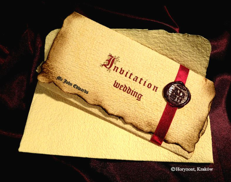 wedding invite scrolls for a medieval wedding! | invitations, Wedding invitations