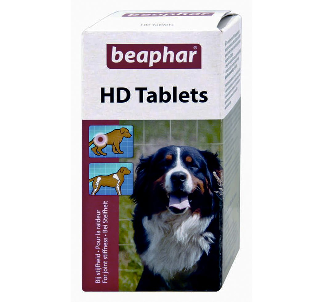 Beaphar Hd Dog Tablets 100 For Bone Joints And Immunity Dog Health Supplements Bone And Joint Online Pet Store Dog Health