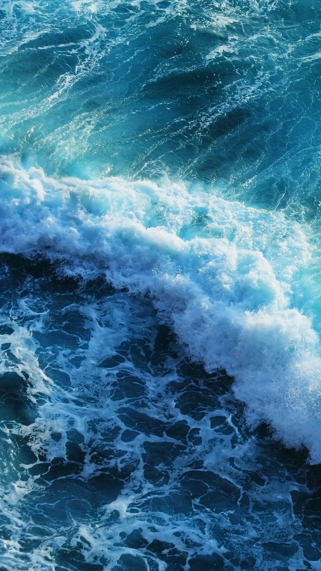 Beautiful Blue Waves Iphone 6 Plus Wallpaper Wallpapers