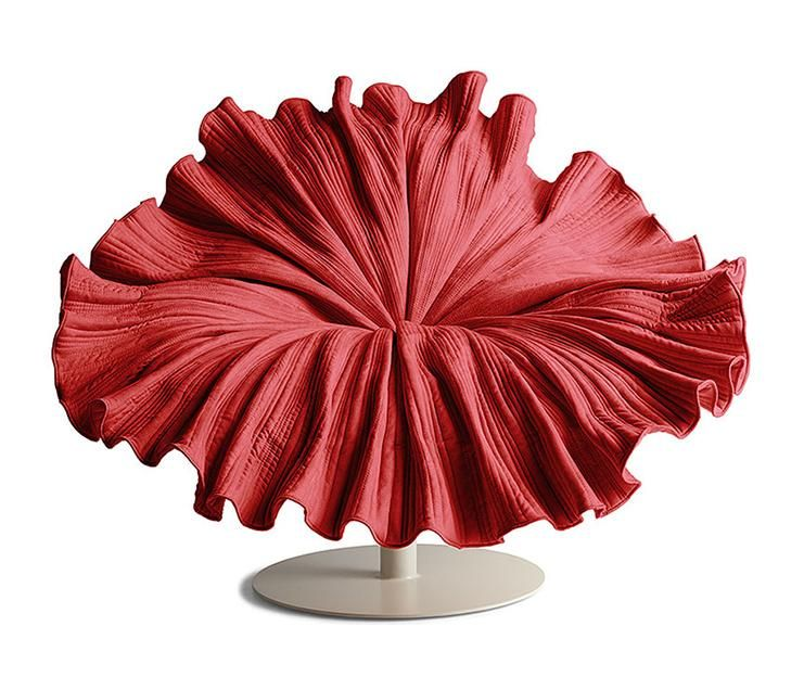 Bloom. Inspired By The Graceful Blossom Of A Flower, This Lounge Chair Is  Sculpted Great Pictures