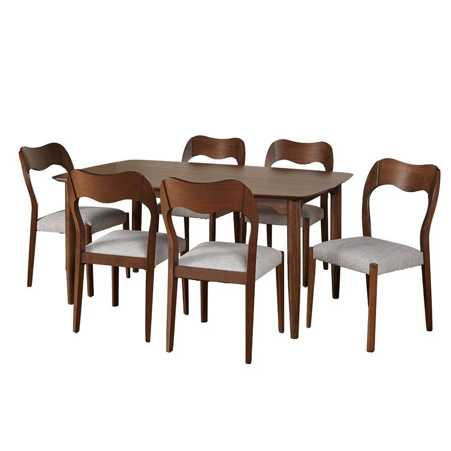 Nice Alize 7 Piece Dining Set