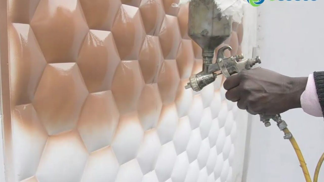 How To Paint Ecoste 3d Wall Panels Know Which Paint Is Suitable