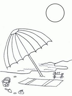Dibujos Para Colorear Del Verano Samarretes I Patrons Dibujos