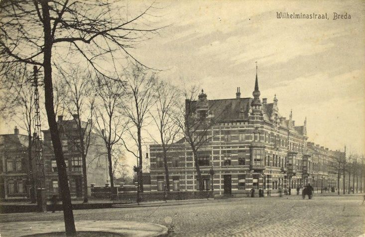 Breda - Wilheminastraat - Architect Marijnen - Rond 1900