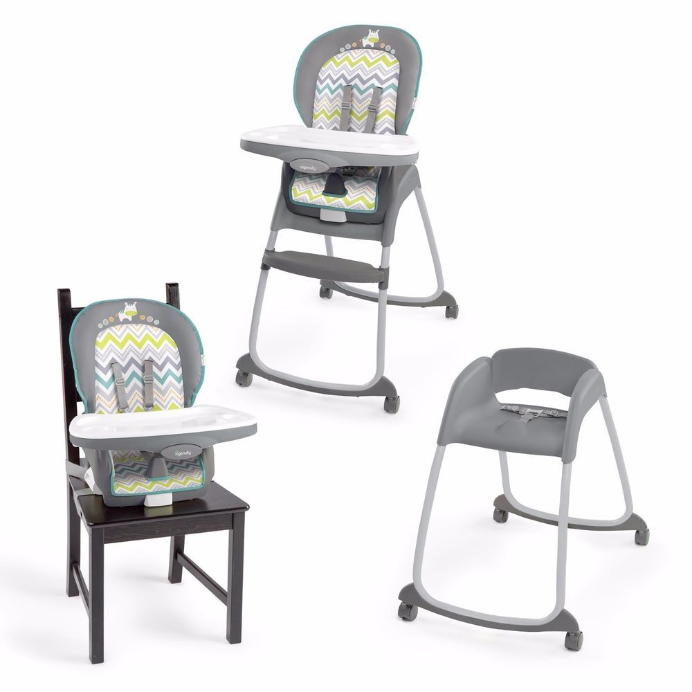 Ingenuity Trio 3 In 1 Ridgedale High Chair Baby Feeding Booster
