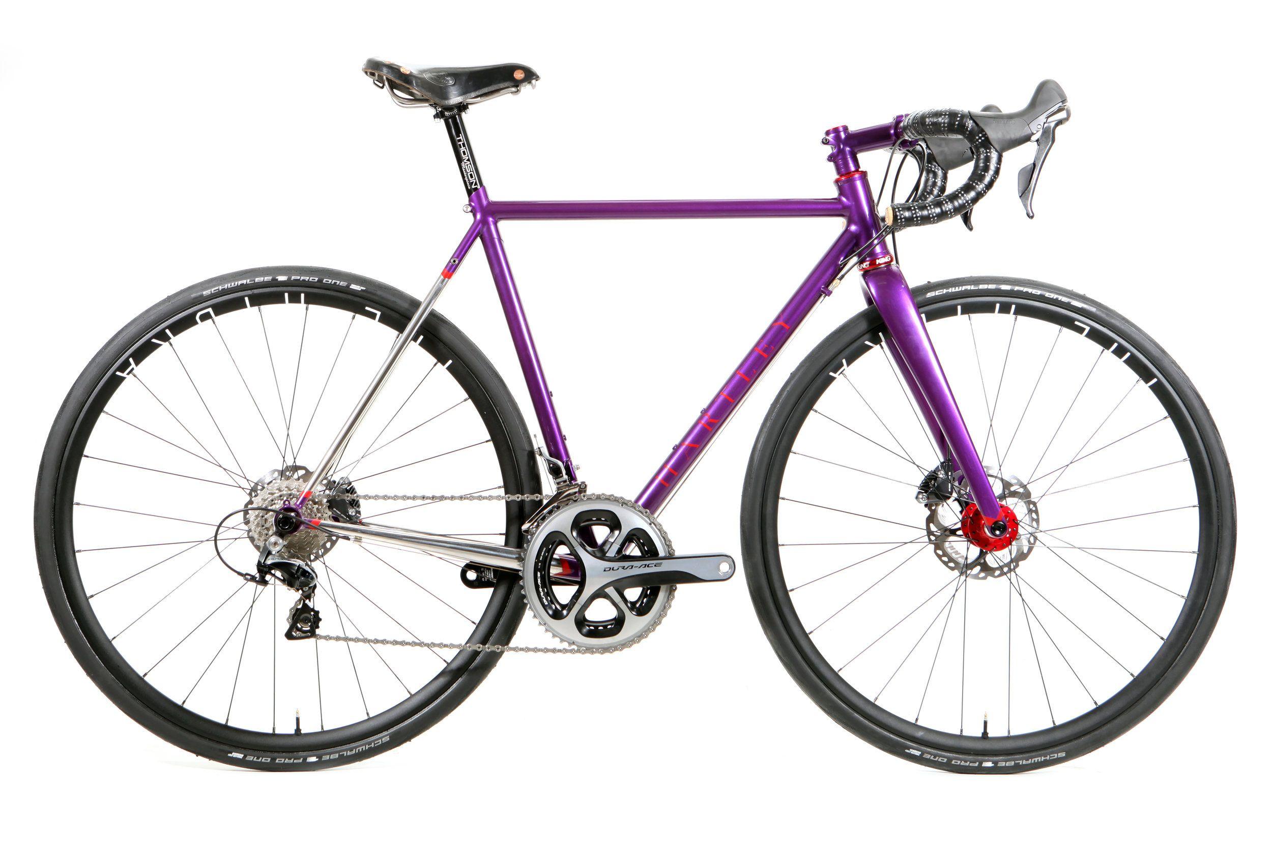 Elle Gundersen Full Side Jpg Purple Bike