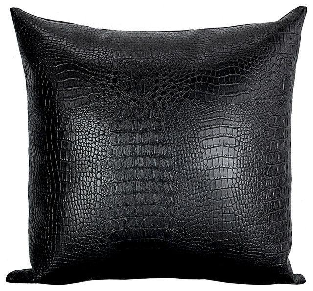 Elegant Black Pillows
