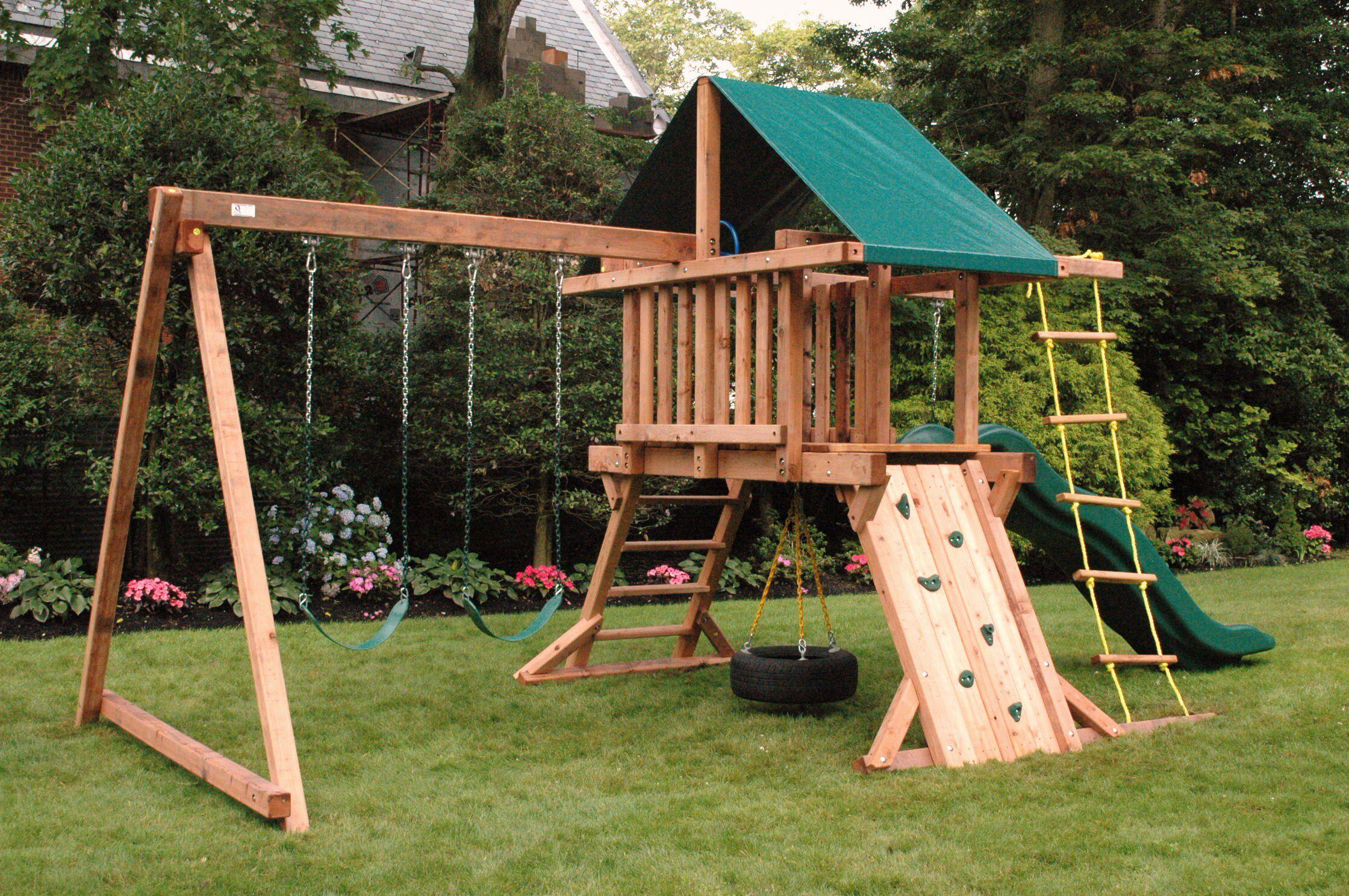 Swing set Potager makeover! Backyard playground sets