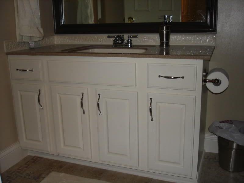 Finest Anyone paint or stain their vanity? Photos? - Bathrooms Forum  SS23