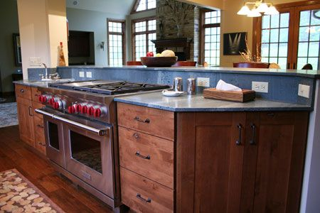 2cm Soapstone Countertops With An Eased Edge Midwest Tops