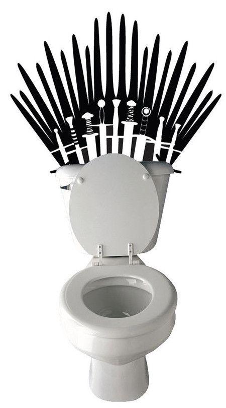 Adesivo Decorativo | Game of Thrones - Trono de Ferro. #GameofThrones #GOT