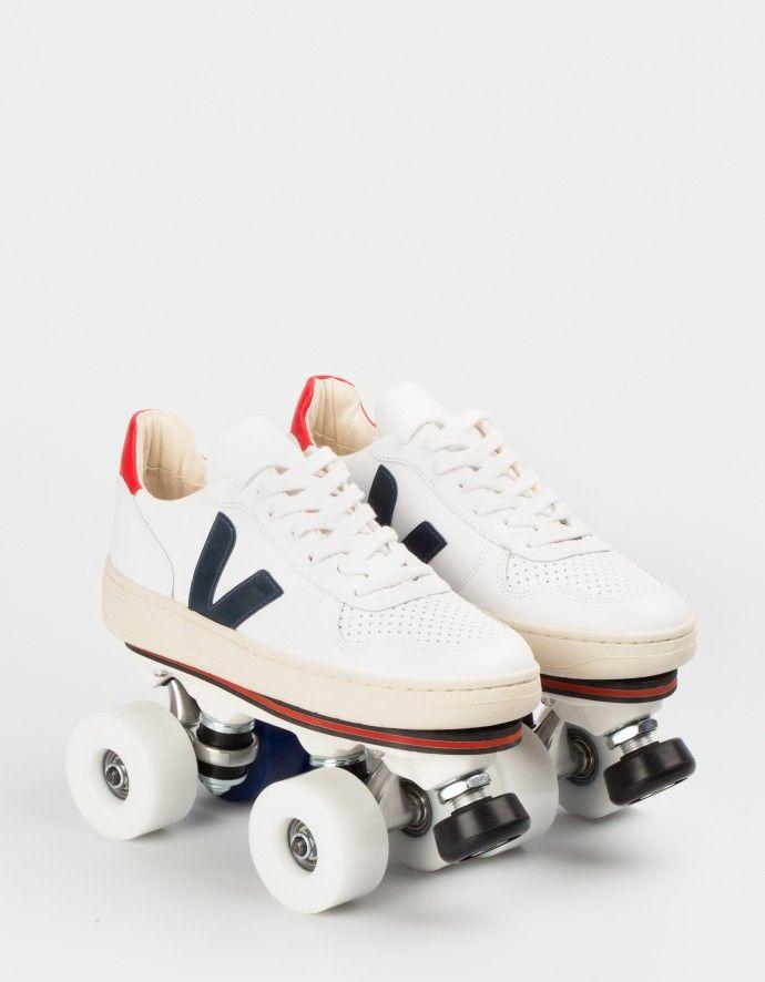V10 VEJA x FLANEURZ Roller skates
