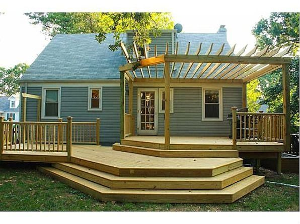 Back Deck Ideas For Houses