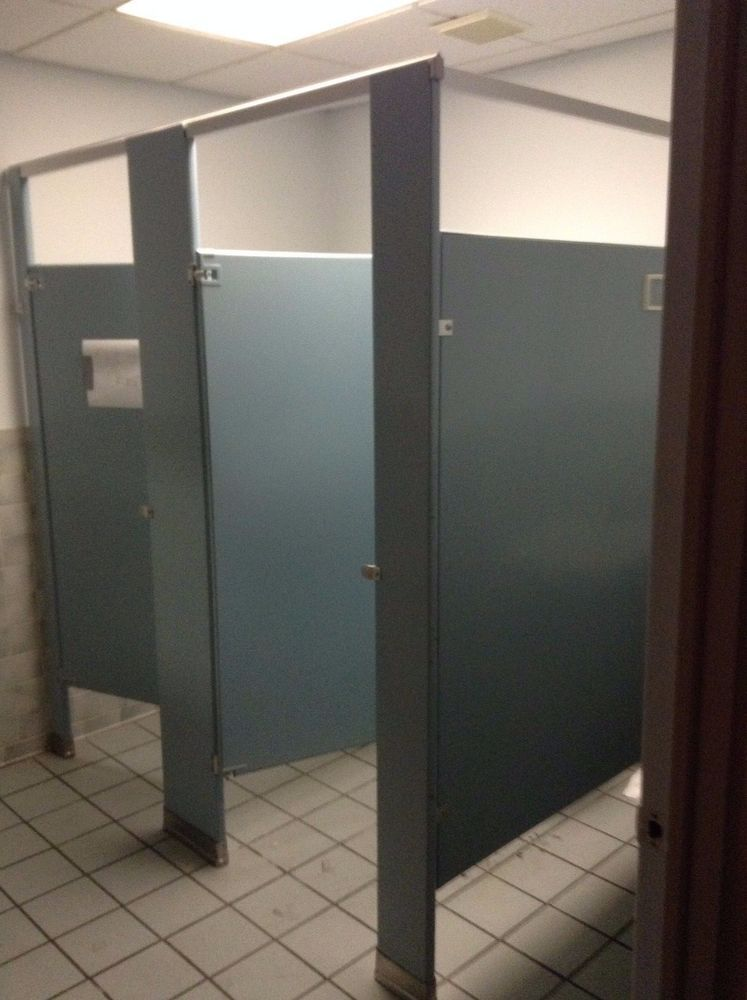 commercial bathroom partition divider stall walls can ship call today - Commercial Bathroom Partitions