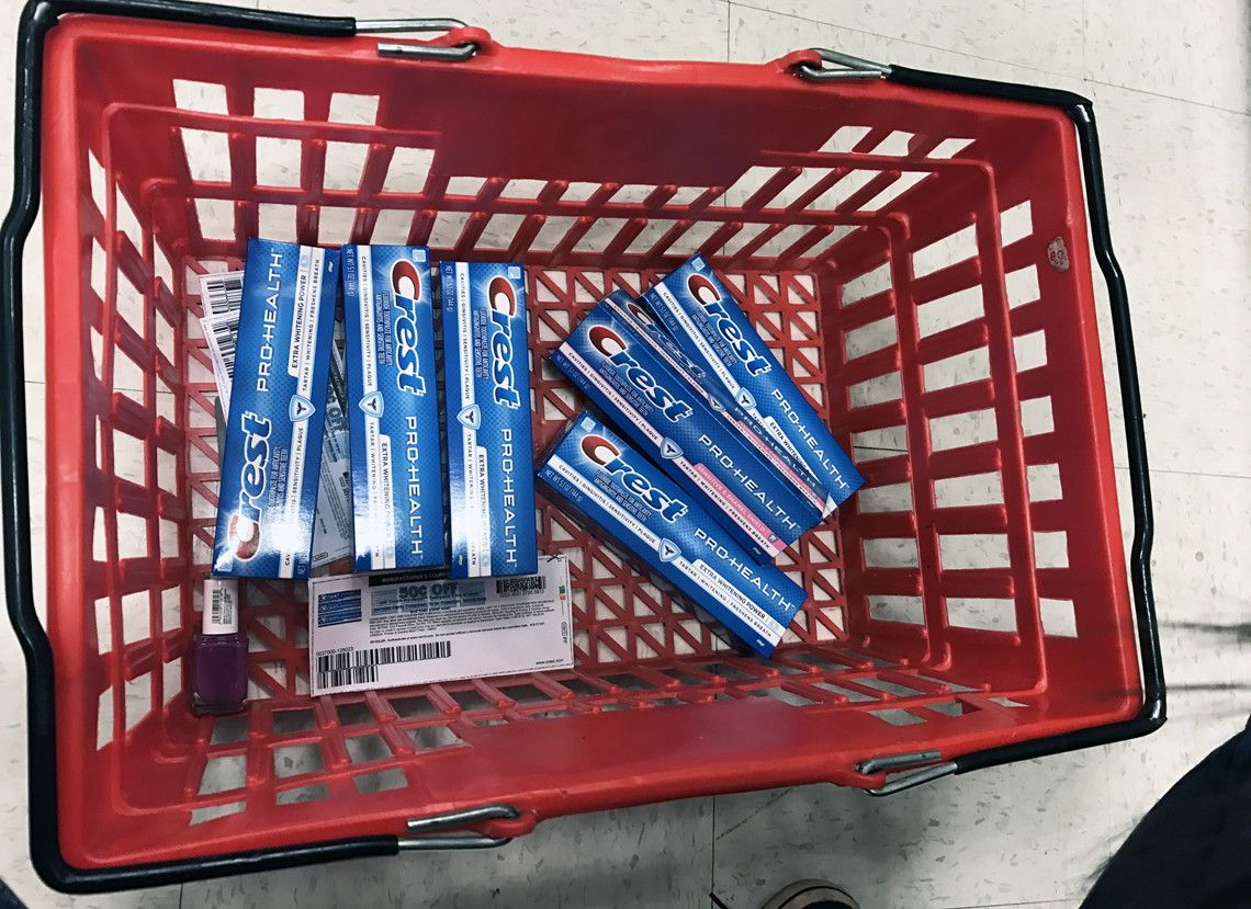Don't Miss! Free Crest ProHealth Toothpaste at Target
