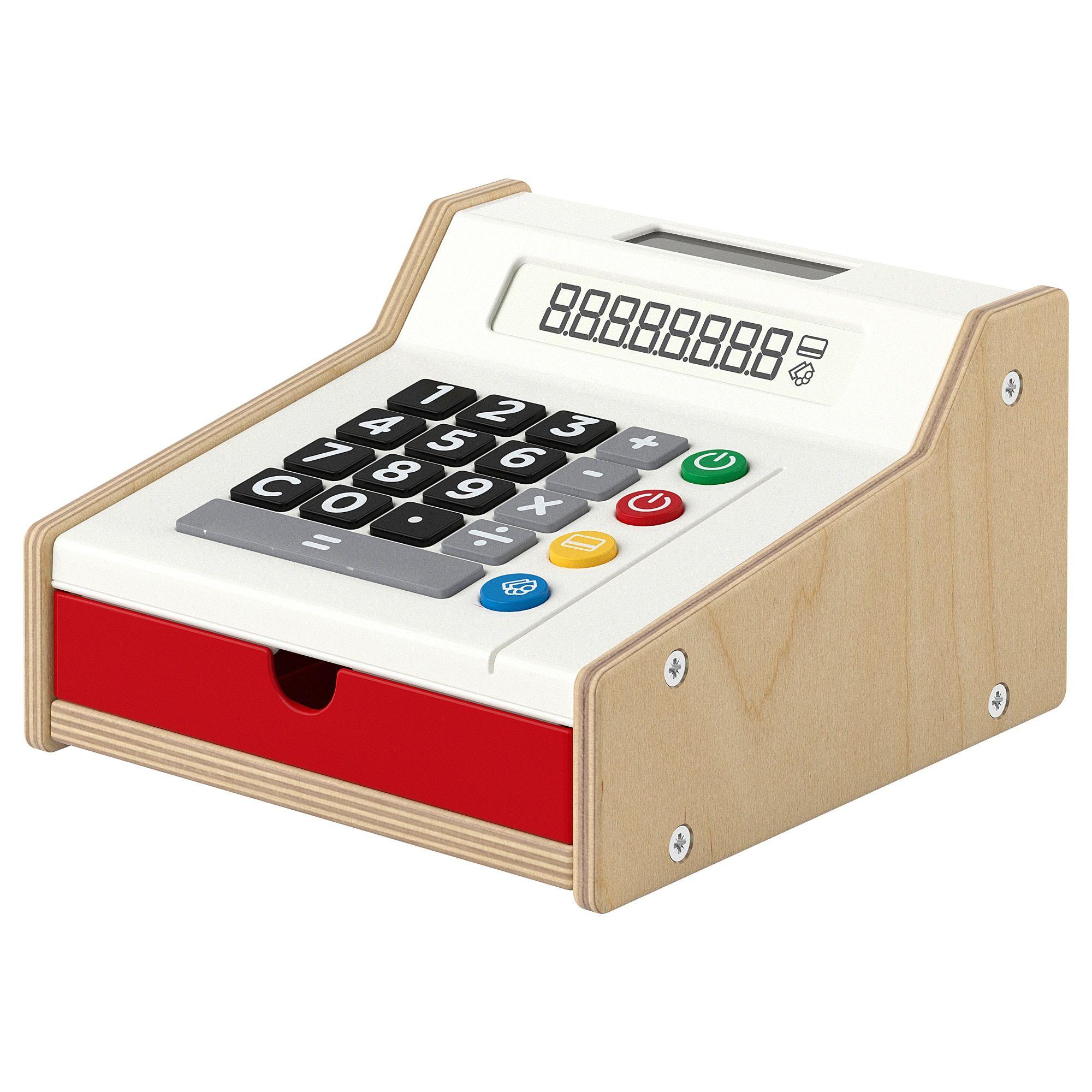 DUKTIG, Toy cash register IKEA in 2020 Toy cash