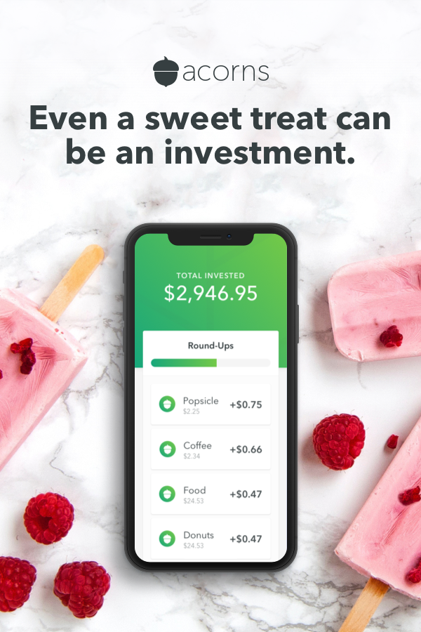 Start investing your spare change with Acorns, the app