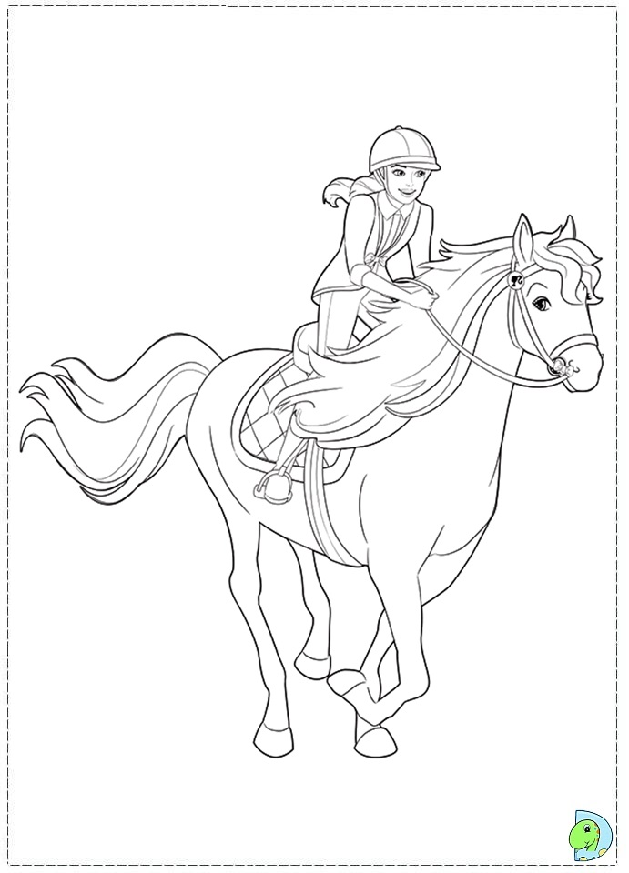 Pin By Maria Nikoledi On Barbie Coloring Pages Barbie Coloring Pages Barbie Coloring Horse Coloring Pages