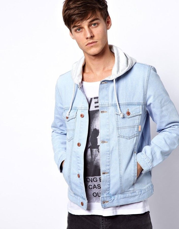 Denim Jacket With Hood | Shops, ASOS and Jackets