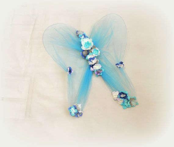 Fairy wings fairy costume flower fairy wings photo prop by TutuHot