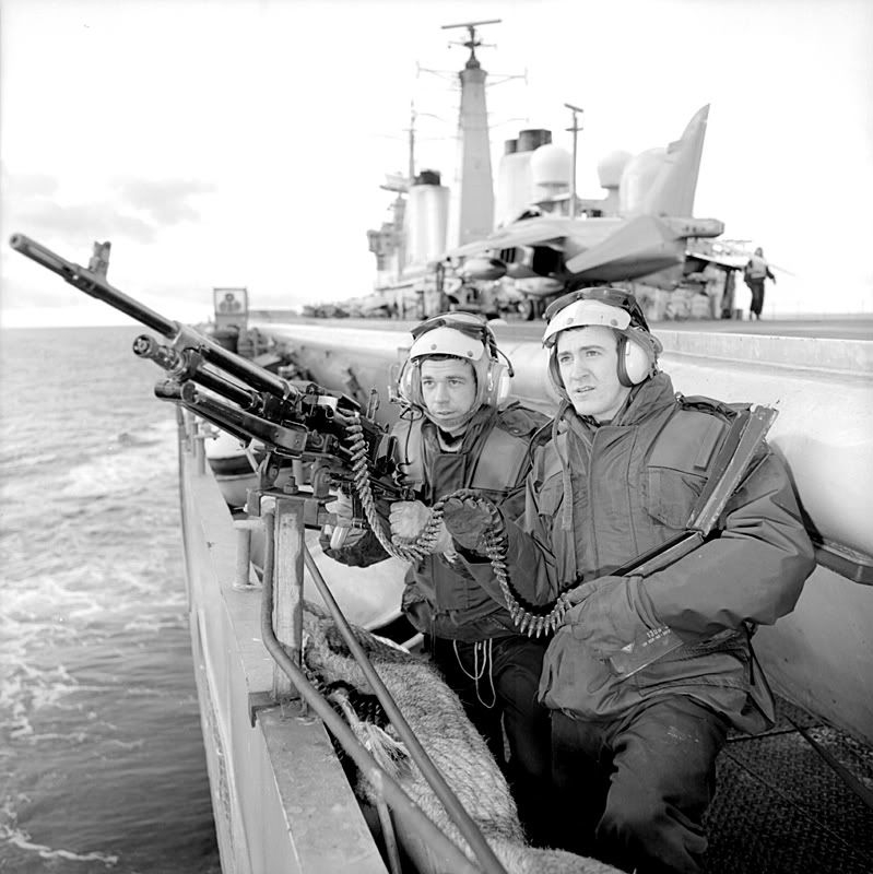 Imágenes del conflicto de Malvinas