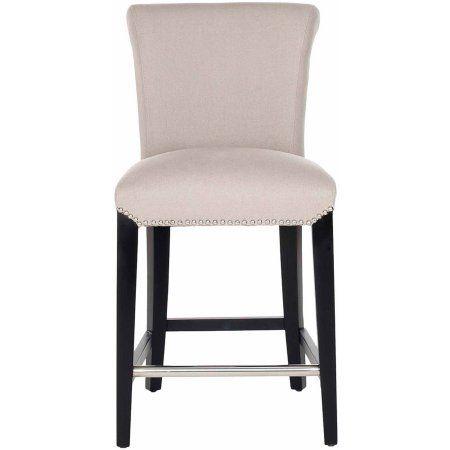 Sensational Safavieh Seth Counter Stool White Products Contemporary Lamtechconsult Wood Chair Design Ideas Lamtechconsultcom