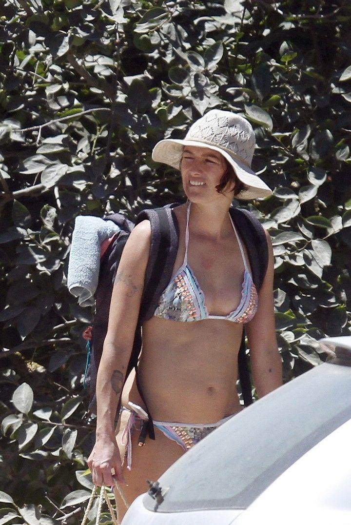Lena Headey Bikini Photos At A Beach In Ibiza 10 Gotceleb White Bikini Bikinis Lena Headey