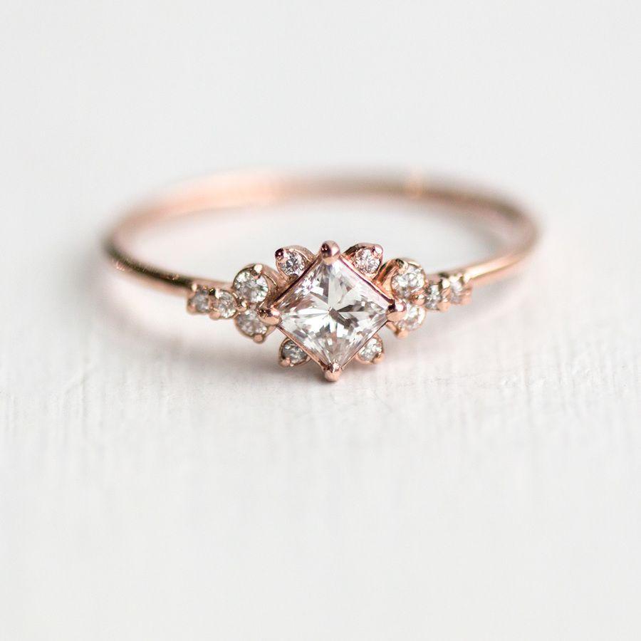 Stargaze Ring Wedding Rings Vintage Engagement Rings Unique Engagement Rings