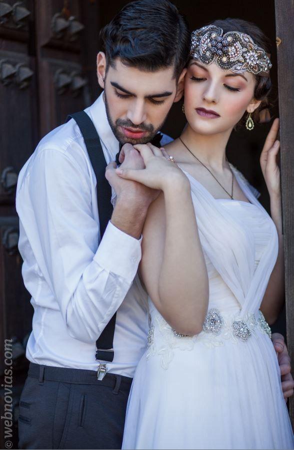Una romántica boda con estilo vintage  www.webnovias.com/blog