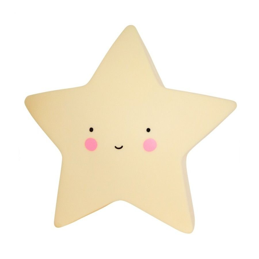 This friendly yellow star shaped LED light is from Dutch