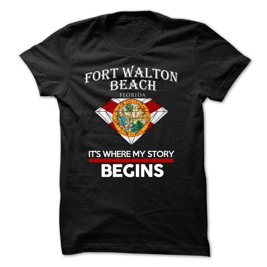 Fort Walton Beach - Florida - Its Where My Story Begins ! Ver 5 T-Shirts, Hoodies (23.9$ ==► Order Shirts Now!)