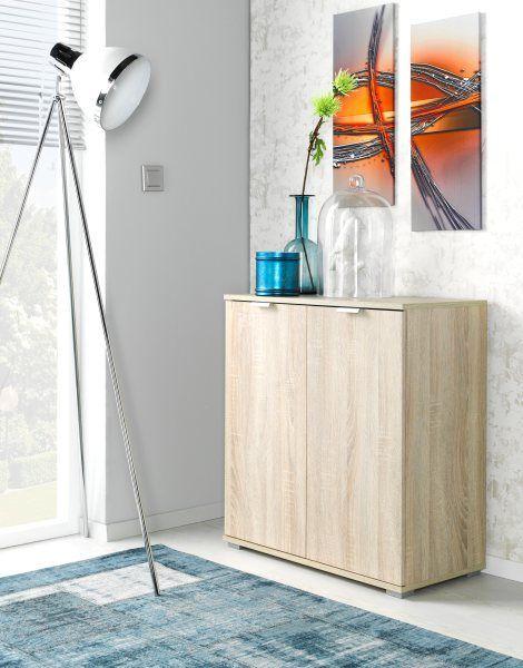 Kommode Eiche Woody 156-00393 Holz Modern Jetzt bestellen unter - wohnzimmer eiche modern