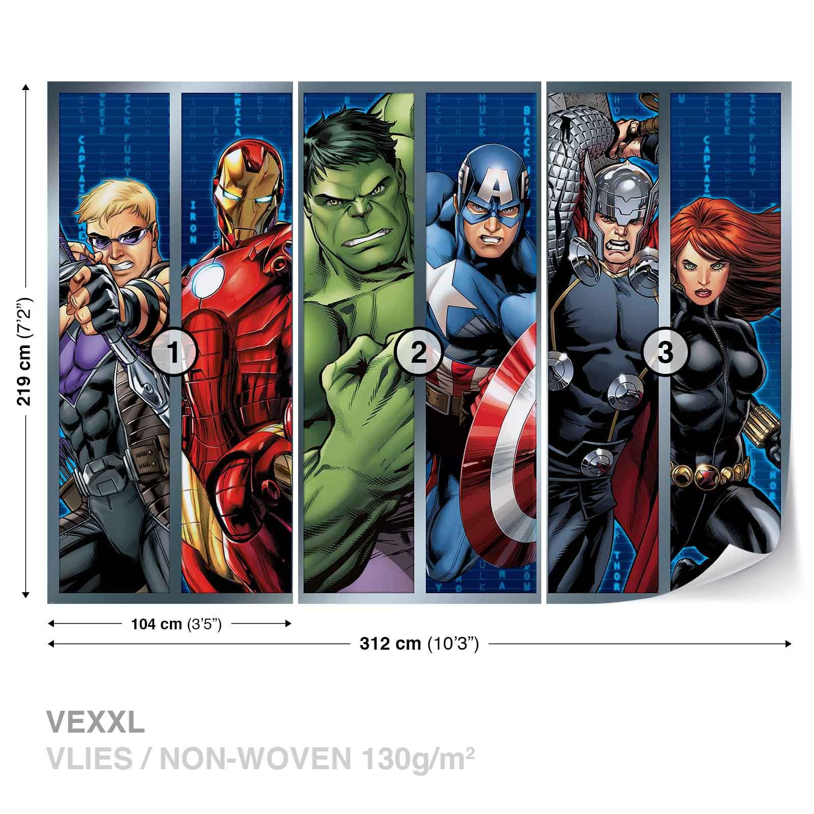 Best Details About Wall Mural Photo Wallpaper Xxl Marvel 400 x 300