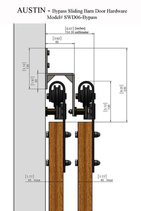 Double Barn Door Pulley System | Http://bukuweb.net/ | Pinterest | Double Barn  Doors, Pulley And Barn Doors