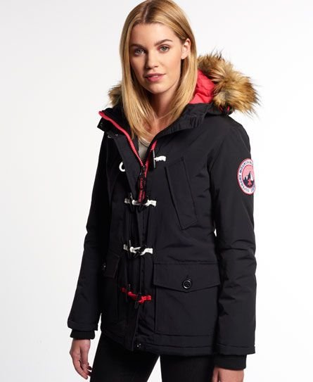 Superdry Everest Duffle Coat | FW 2015 shopping | Pinterest ...
