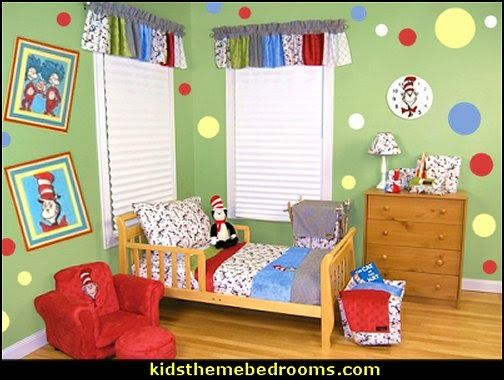 Dr Seuss Bedding-dr seuss decorating ideas-kids theme bedrooms ...
