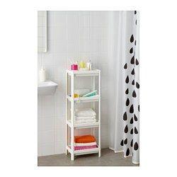 Vesken - Kleine badkamer, Shampoo en Montages