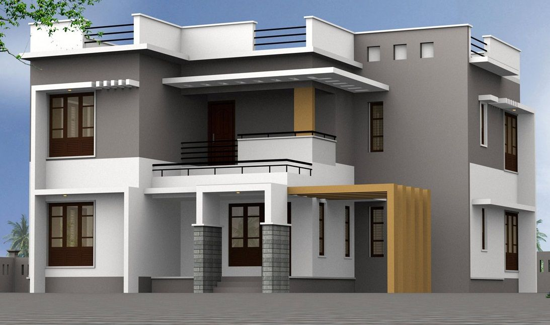 Decorating, Luxury House Designs Plans With Latest Paint Color ...