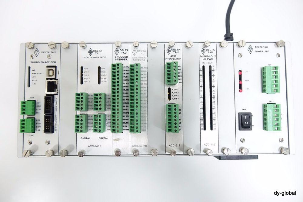DELTA TAU Data System UMAC-11 PMAC2 CPU ACC-24E2 Power On