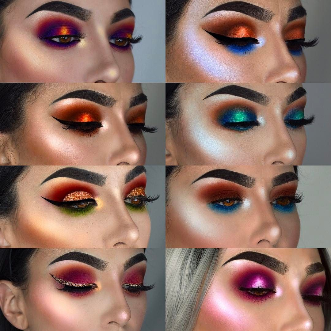 "11.9k Likes, 115 Comments - 💃🏻F R A N C E S C A💃🏻 (@littledustmua) on Instagram: ""My latest favorite looks. What's yours? All the details on the looks ok my page 💃🏻 Camera I use:…"""