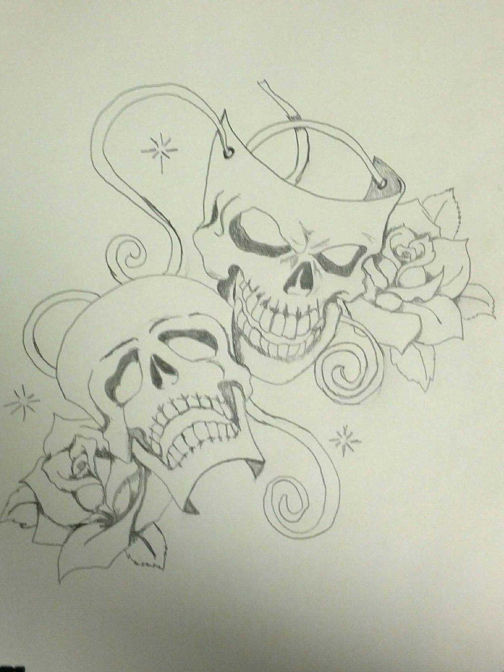 Happy and sad face masks happy and sad face tattoos - Pin Face Happy Sad Masks Tattoo On Pinterest