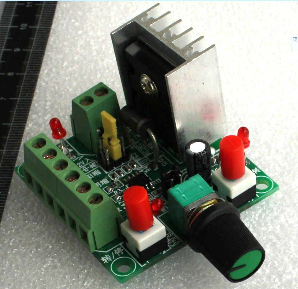 1PCS Stepper Motor Driving Controller Pulse PWM Speed Reversing Control NEW