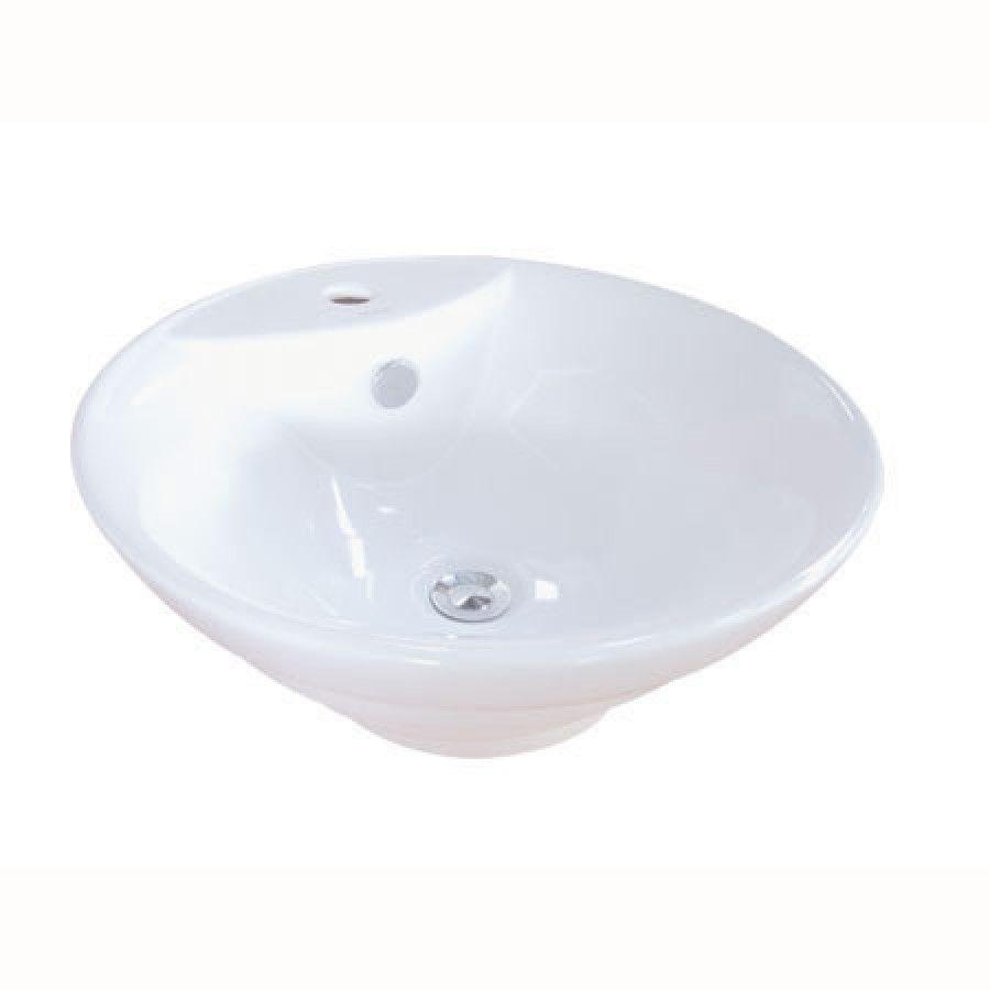Elements Of Design Ripple Bathroom Sink In White Edv4012 Sink Bathroom Sink Vessel Sink