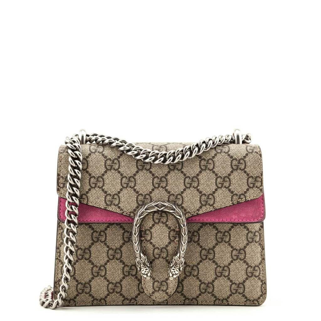 Gucci Gg Supreme Pink Suede Mini Dionysus Bag Shop Preloved Gucci Ca Bags Gucci Handbags Pink Suede