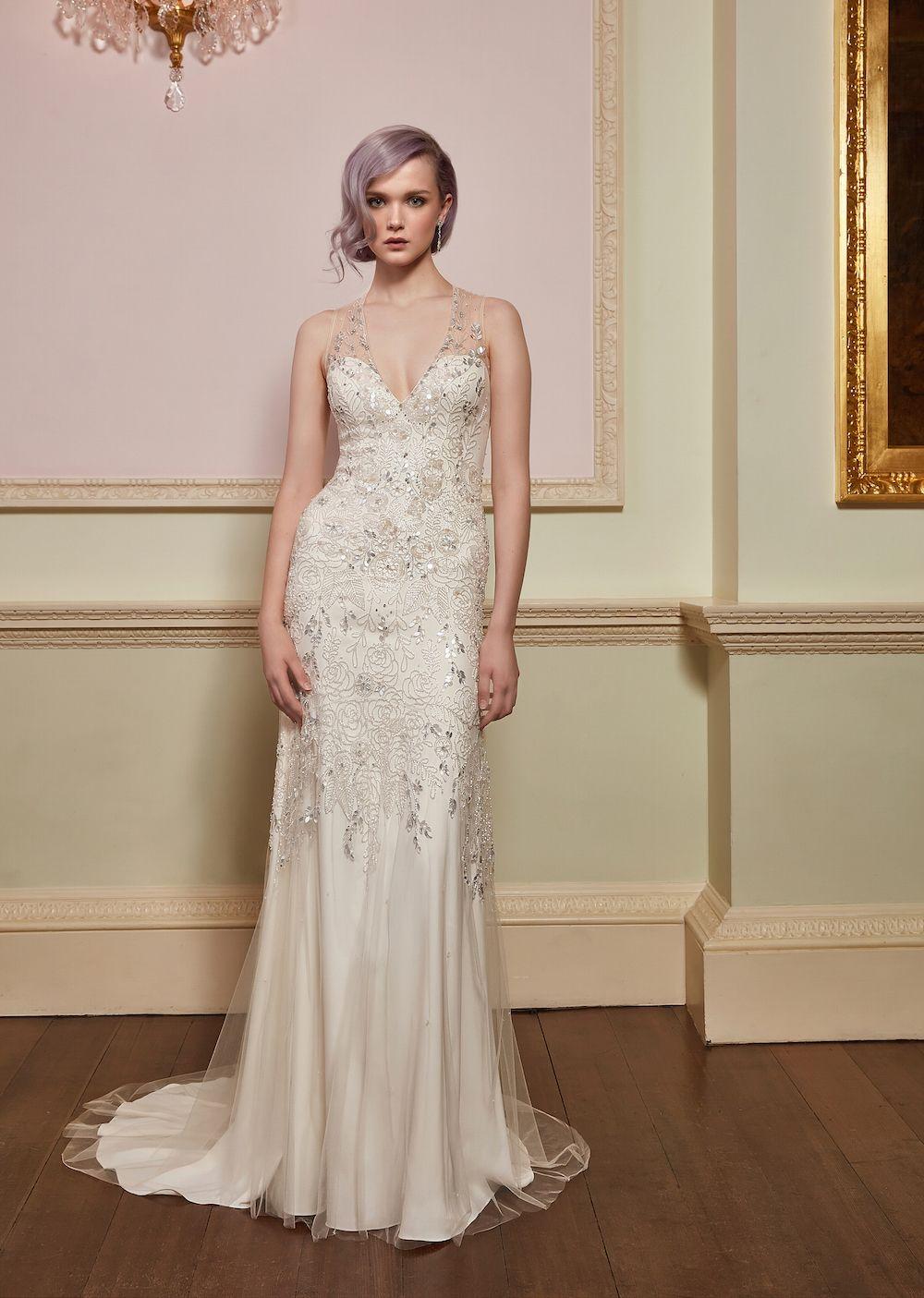 Jenny Packham Kollektion 2018 ~ neue Brautkleider mit modernem ...